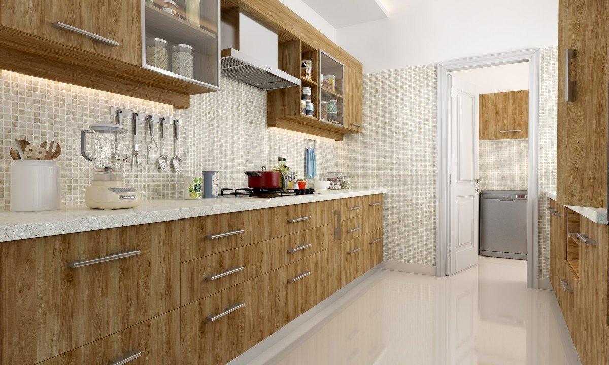 PVC Modular Kitchen in Madipakkam   Wooden Modular Kitchen   PVC ...