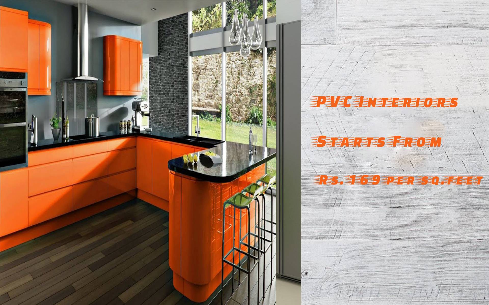Pvc Modular Kitchen In Madipakkam Wooden Modular Kitchen Pvc Interior Designers Wooden Interior Designers In Velachery A2b Interiors