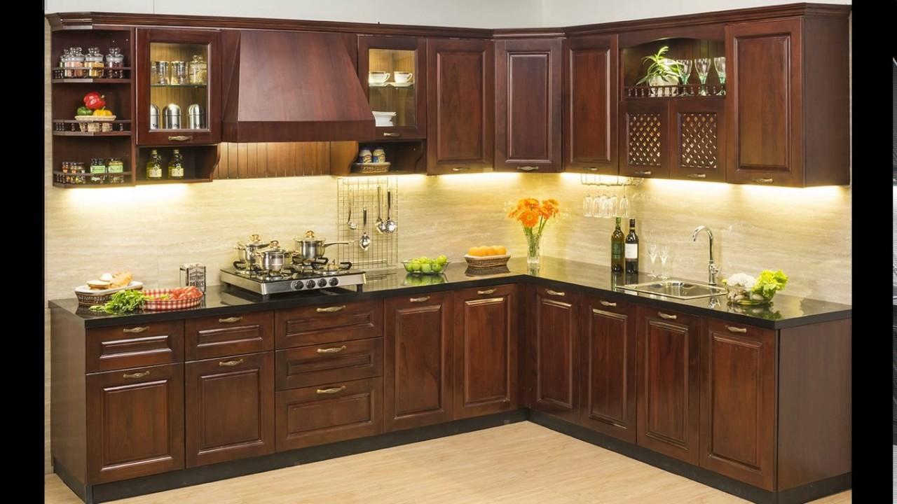 A9B Interiors   Wooden modular kitchen in madipakkam   wooden ...